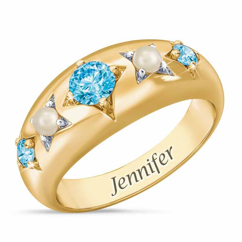 Royal Radiance Personalized Birthstone Ring 1906 001 1 3