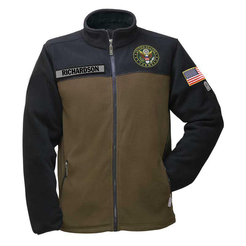 The US Army Womens Fleece Jacket 1662 010 6 1