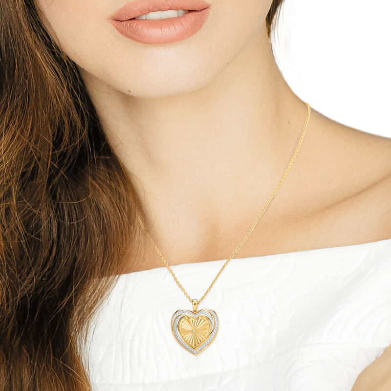 Heart of Our Family Diamond Pendant 10177 0014 m model