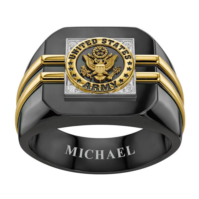 Distinction US Army Ring 6670 001 4 3