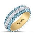 Birthstone Beauty Eternity Ring 6911 0013 c march