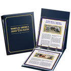 Women in America Enhanced $2 Bill Collection 10051 0015 e album