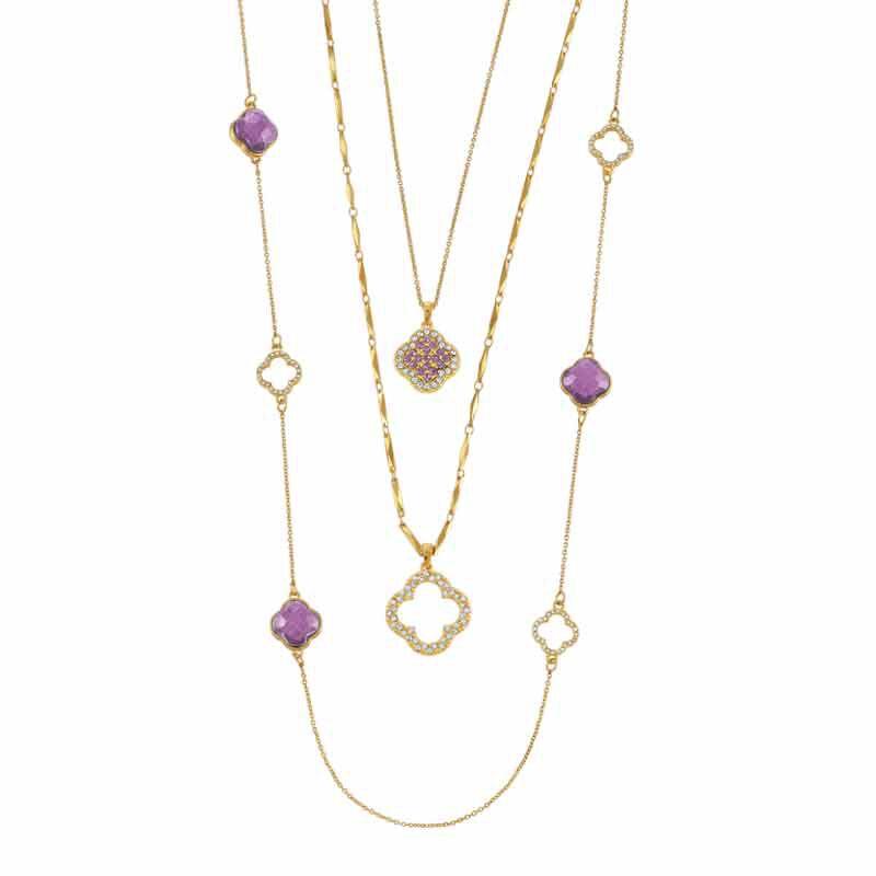 Birthstone Beauty Layered Necklace Set 6594 001 7 6