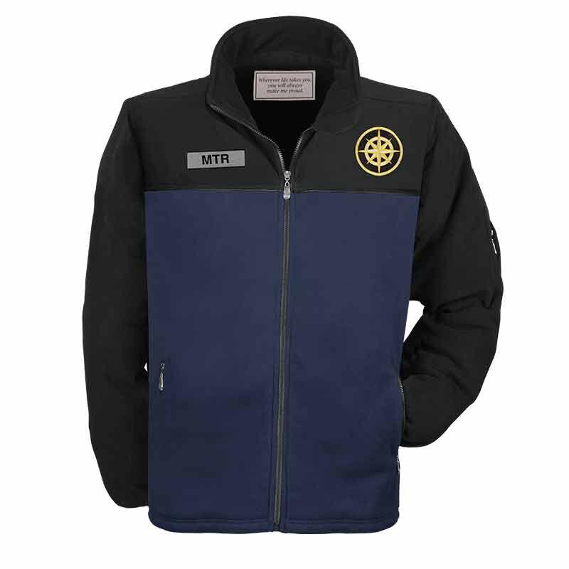 Grandson Personalized Fleece Jacket 2127 001 2 1