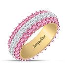 Birthstone Beauty Eternity Ring 6911 0013 j october
