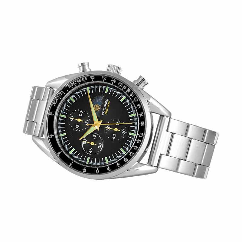 The Apollo Lunar Explorer Mens Chronograph 1850 001 7 3