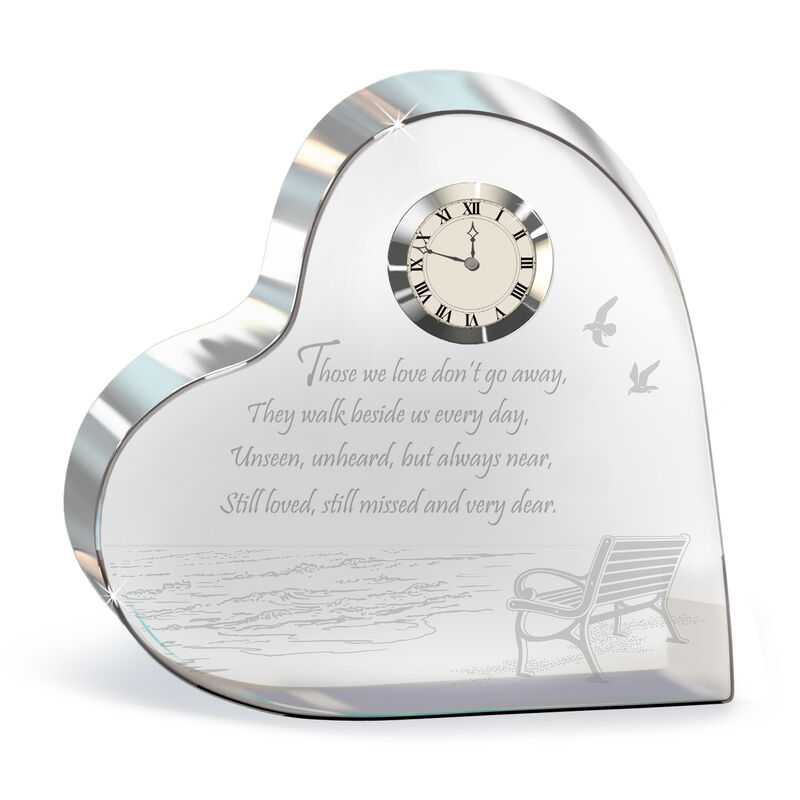 Always in My Heart Crystal Desk Clock 4655 0026 a main