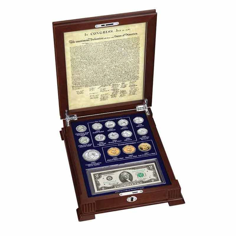 Thomas Jefferson Coin and Currency Set 1796 003 0 1