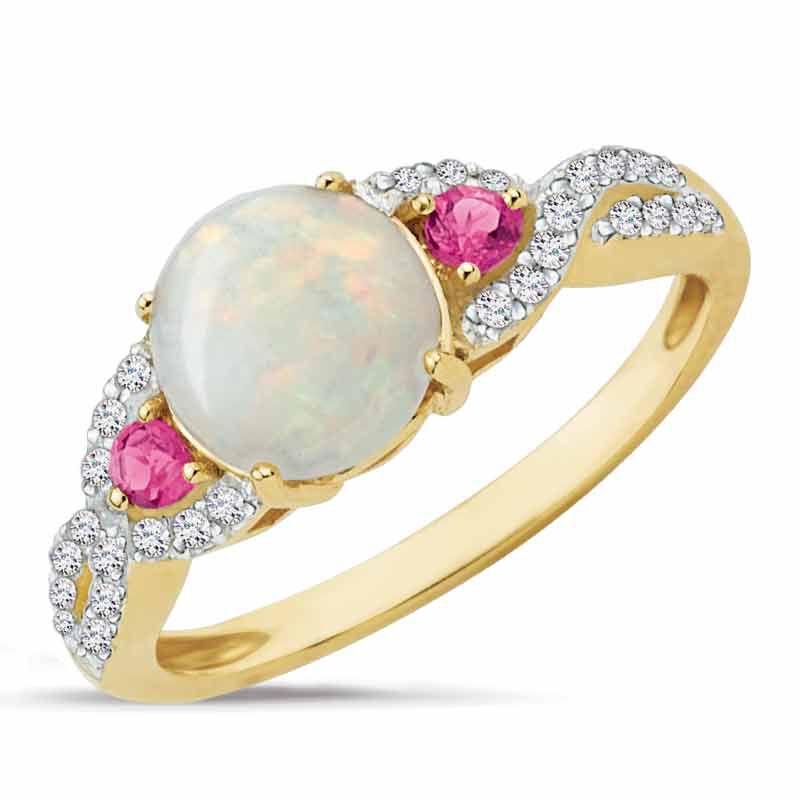 Opal Moon 14kt Diamond Ring 2889 001 0 1