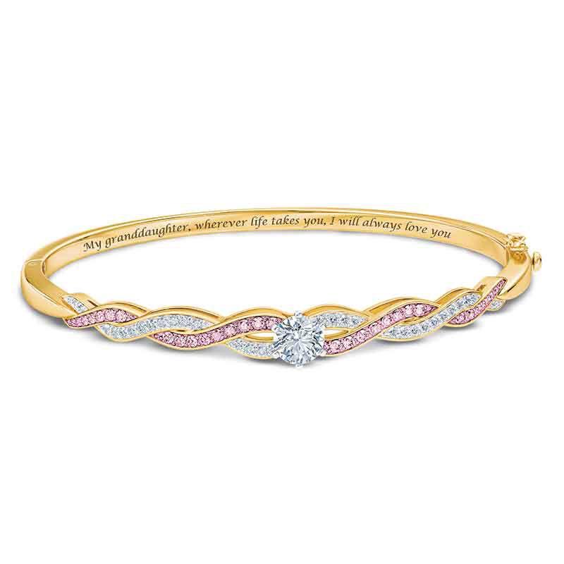 I Will Always Love You Granddaughter Journey Bracelet 6766 001 9 1