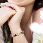Personalized Copper Charm Bracelet 6493 0019 m model