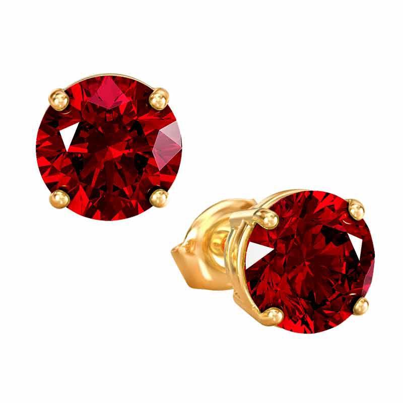 Birthstone Stud Earrings 3359 013 4 7