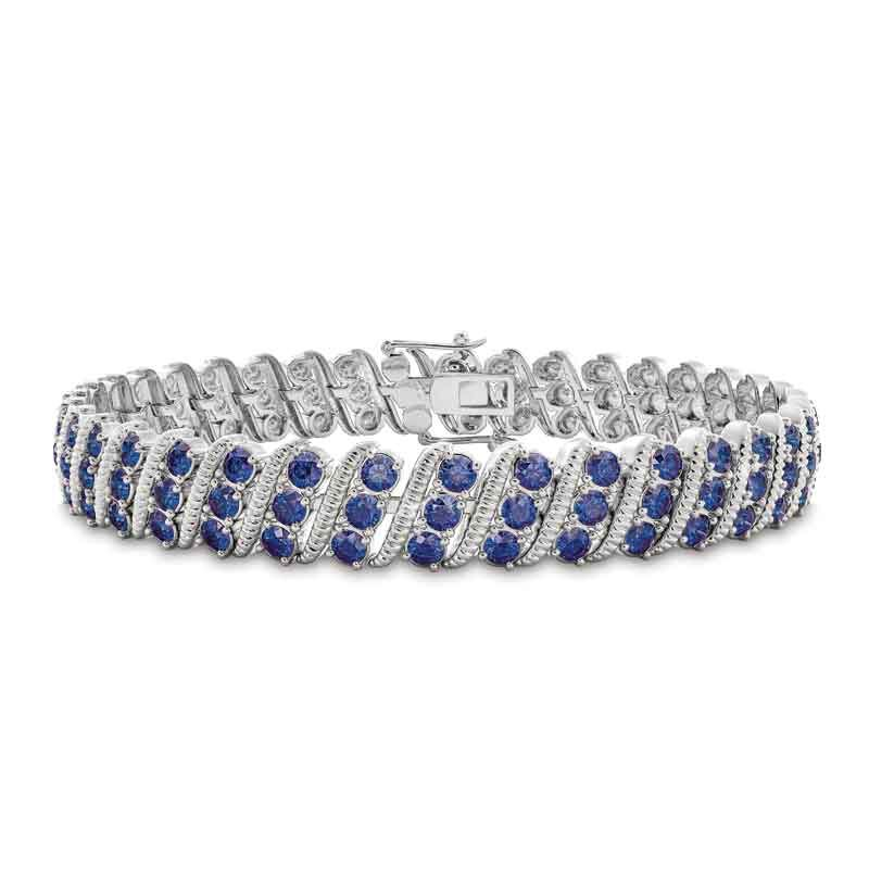 Bold  Brilliant Birthstone Bracelet 6003 001 2 9