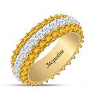 Birthstone Beauty Eternity Ring 6911 0013 k november