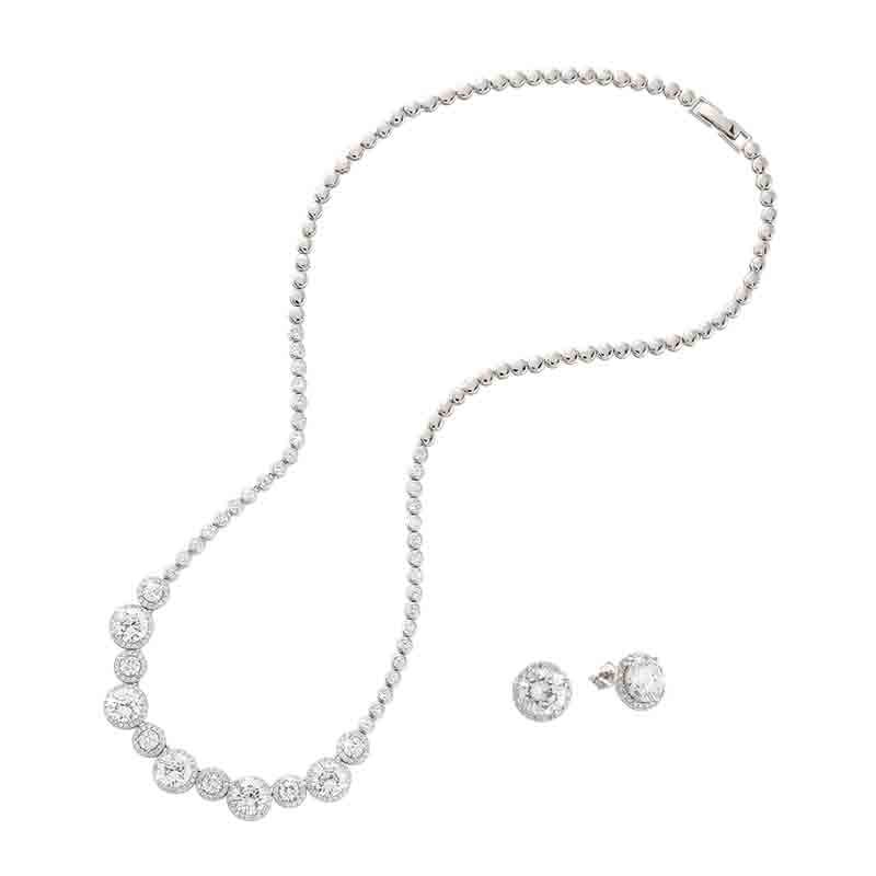 Belle of the Ball Diamonisse Necklace 4936 001 9 1