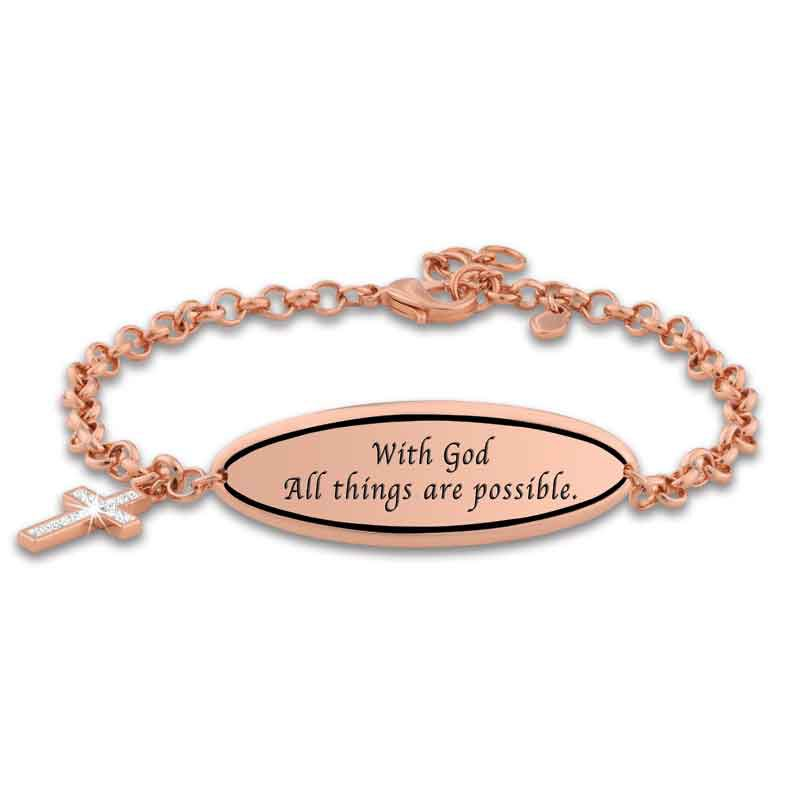 Healing Through Faith Magnetic Copper Bracelet 1329 001 0 1