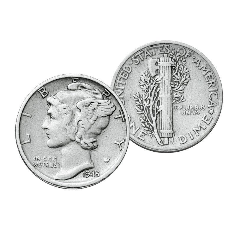 Mercury Silver Dimes Collection 2844 001 4 1