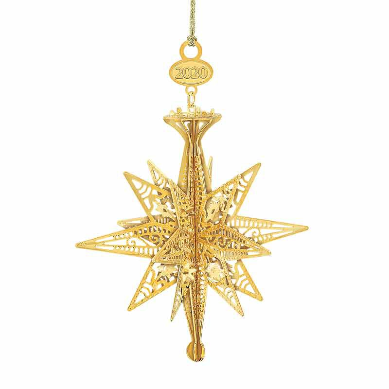 The 2020 Gold Christmas Ornament Collection 2161 006 8 10