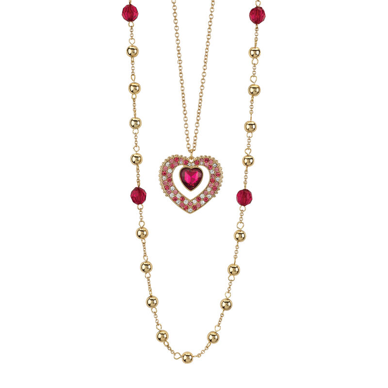 Layers of Sparkle Crystal Necklace Collection 10027 0016 b feb