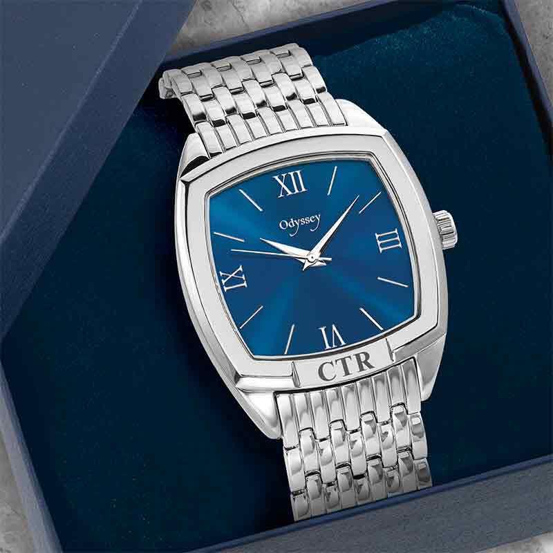 Personalized Odyssey Mens Watch 6510 001 8 4