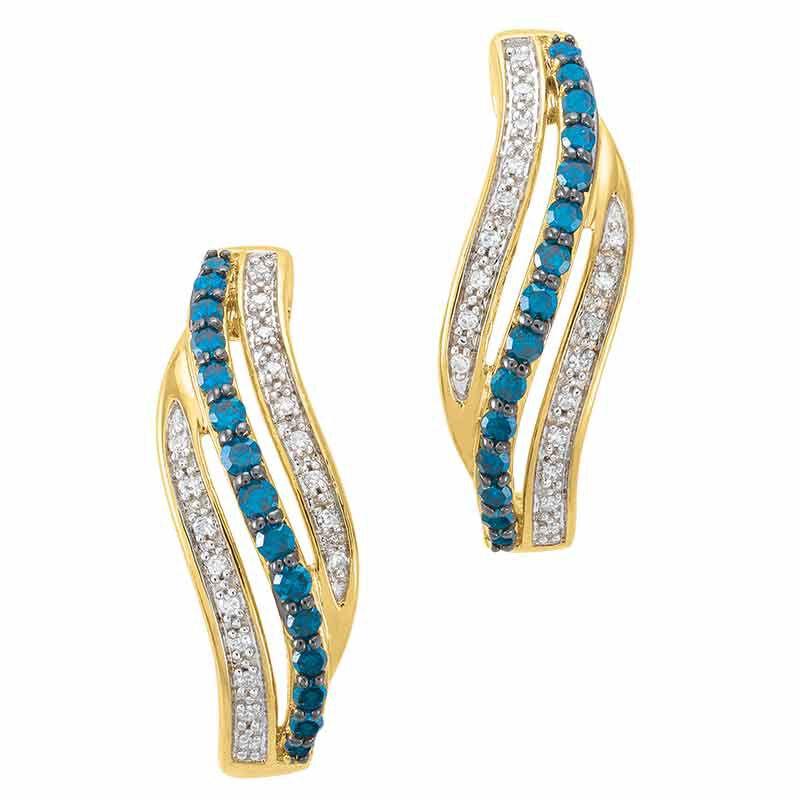 Blue Swirl Diamond Earrings 6451 001 9 2