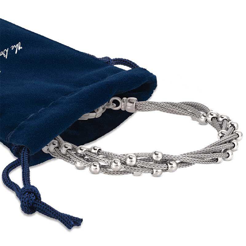 Stella Italia Sterling Silver Bracelet 6356 001 5 3