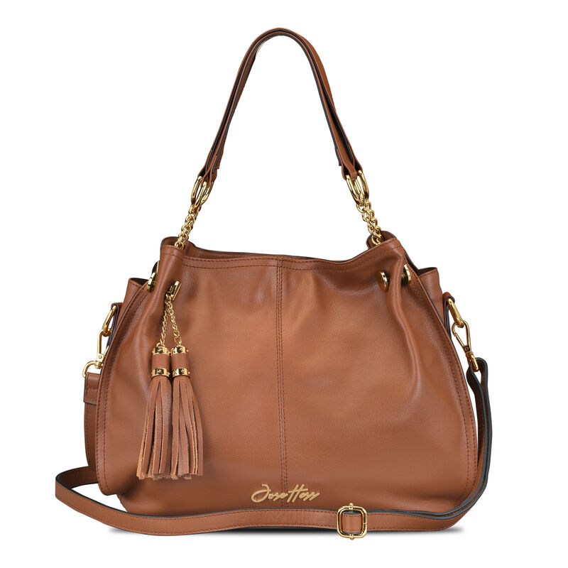 The Jose Hess Signature Leather Hobo 6590 0011 c bag withstrap