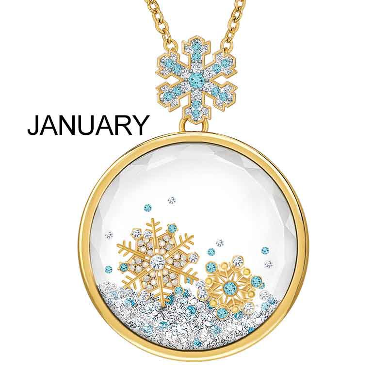 Year of Cheer Floating Crystal Pendants 1553 001 7 2