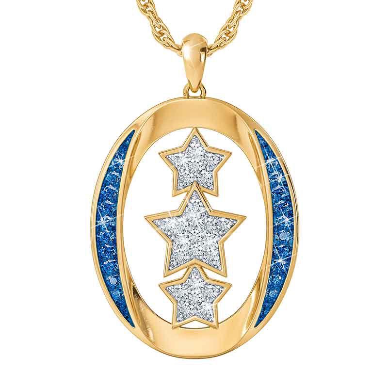 My Granddaughter You Are My Shining Star Diamond Pendant 2730 001 1 1