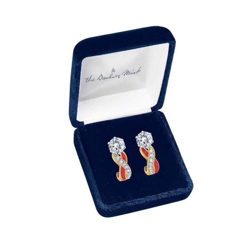 Birthstone Swirl Earrings 6503 0033 m display box