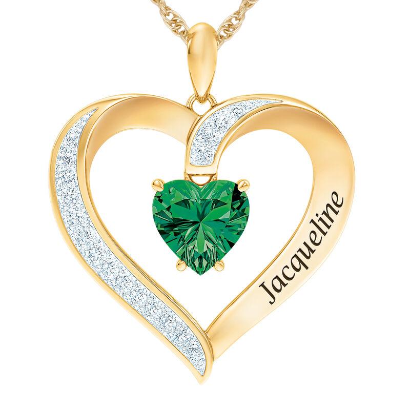 The Birthstone Heart Pendant 6015 0026 e may