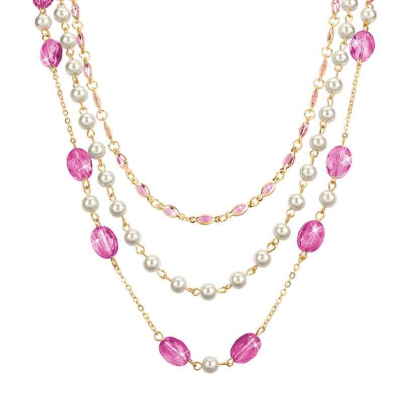 Birthstone Elegance Necklace Set 1478 001 9 10