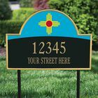 The New Mexico Personalized Address Plaque 1073 009 1 2