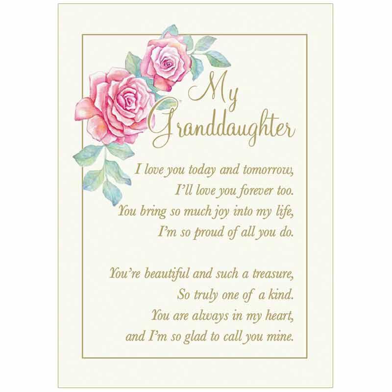 My Granddaughter Joy  Pride Heirloom Music Box 4916 001 3 2