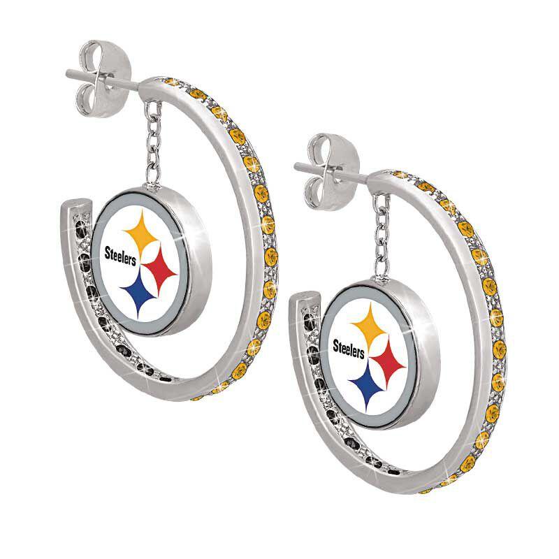 Steelers Inside Out Hoop Earrings 1031 003 5 1