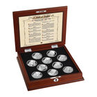 The Bill of Rights Silver Bullion Commemoratives 6530 0014 g open display