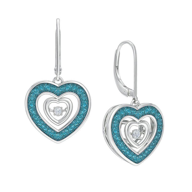Dancing Hearts Diamond Earrings 5432 0064 a main