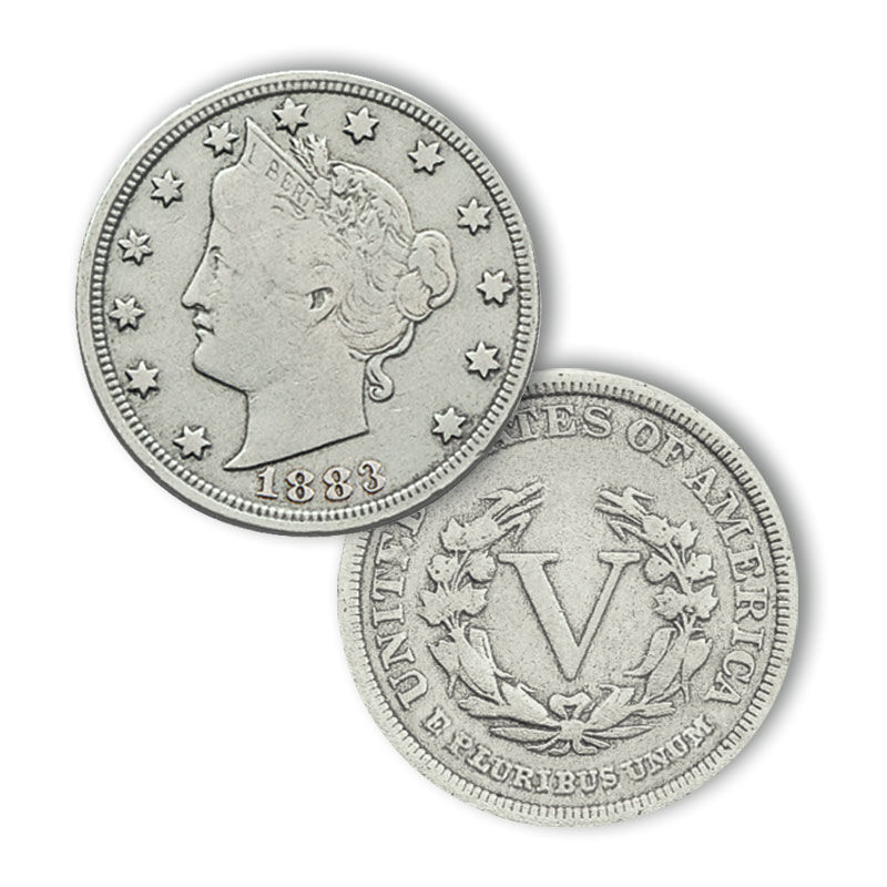 Liberty Head Nickels Crystal Collection 4350 002 4 2