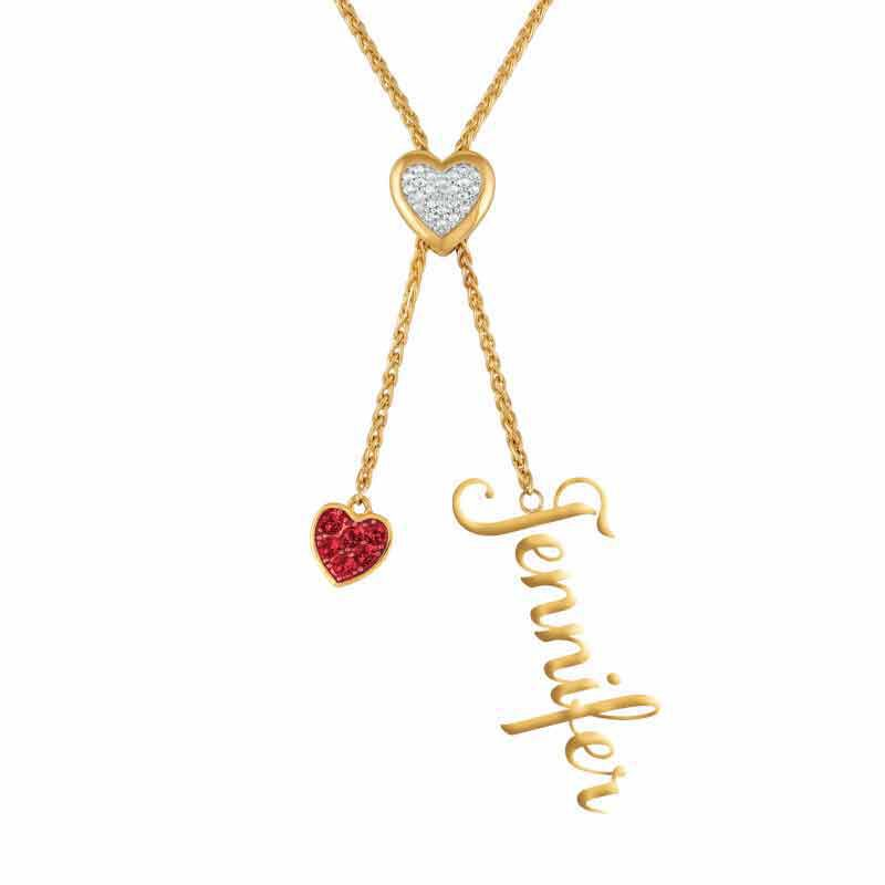 Daughter Personalized Birthstone Bolo Necklace 6525 001 1 1