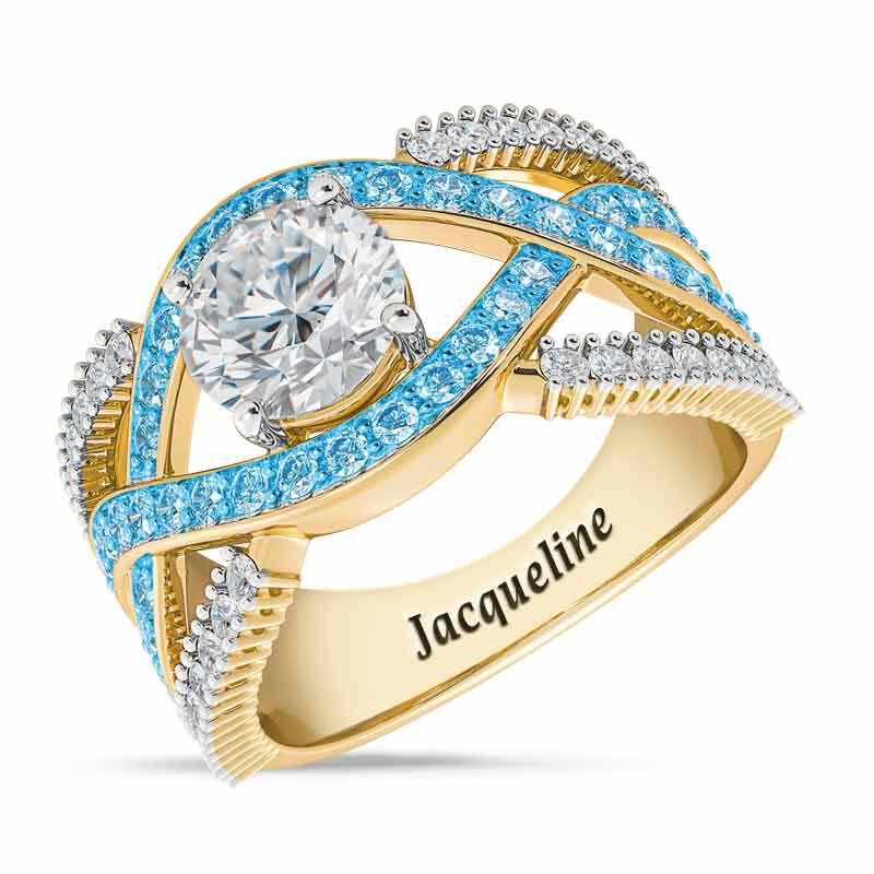 Birthstone Statement Ring 6243 001 2 12