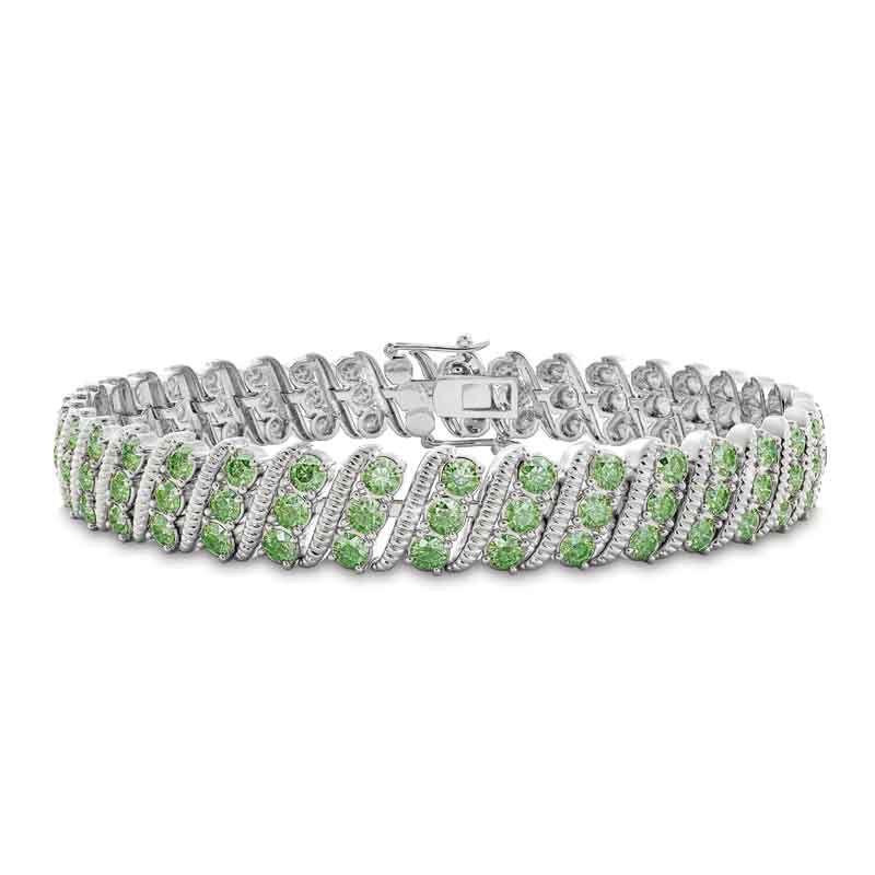 Bold  Brilliant Birthstone Bracelet 6003 001 2 8