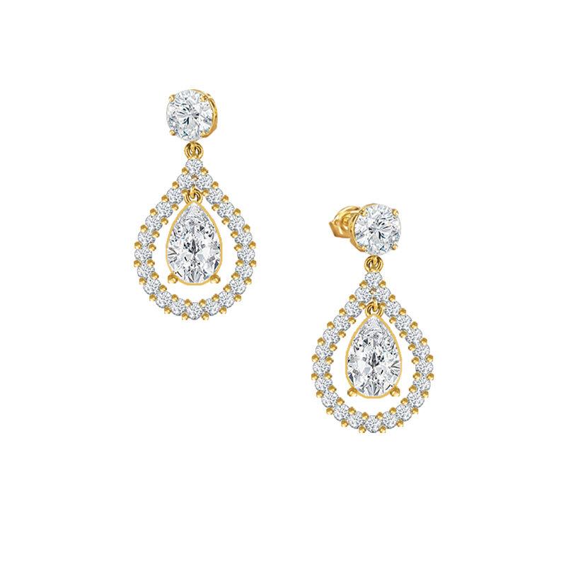 Loves Embrace Pearl Necklace Earring Set 6914 0010 c earring