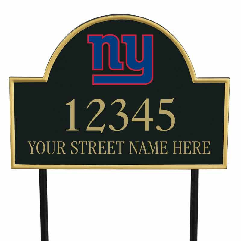 The NFL Personalized Address Plaque 5463 0355 p giants