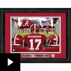College Personalized Game Time Framed Print, , video-thumb