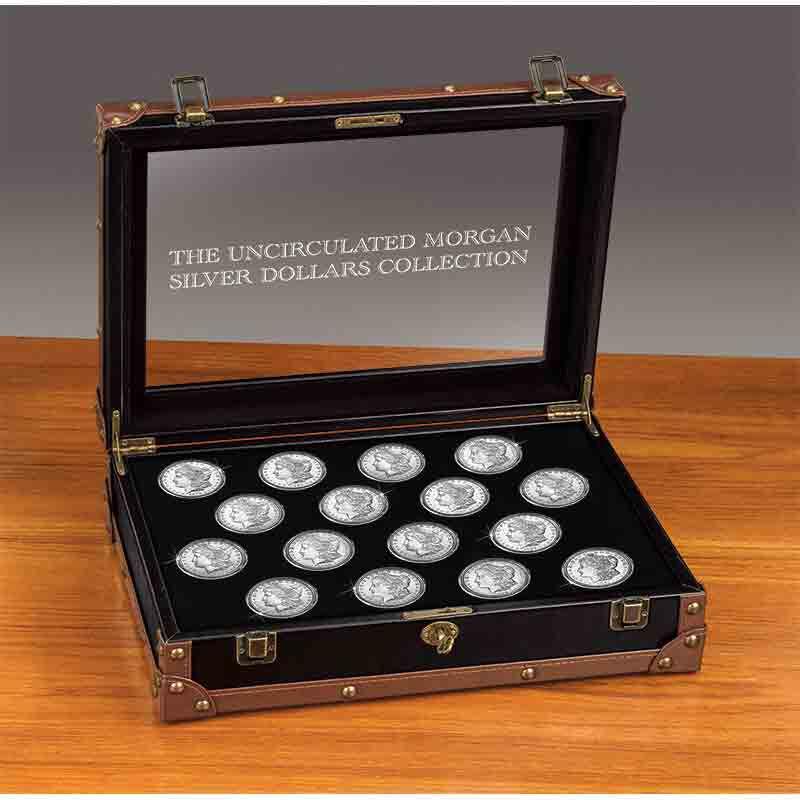 Uncirculated Morgan Silver Dollars 9719 007 8 2