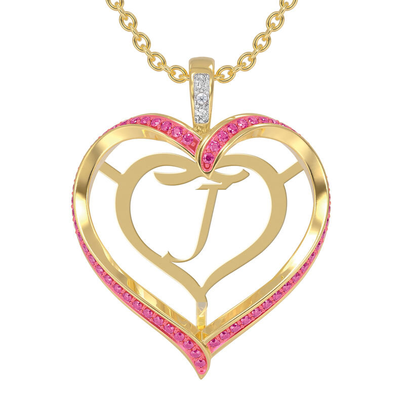 Personalized Birthstone Diamond Pendant 10138 0012 j october