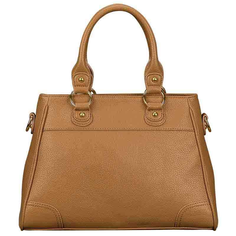 Personalized Initial Brown Handbag 1040 001 8 5
