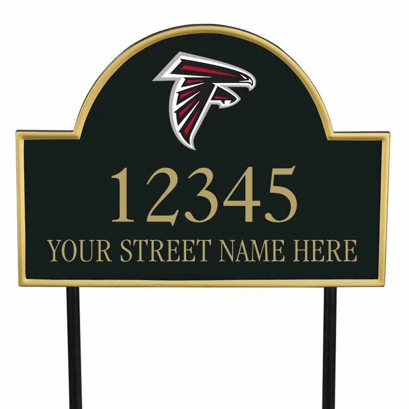 The NFL Personalized Address Plaque 5463 0355 o falcons