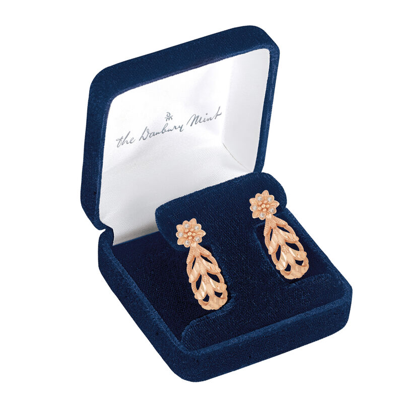 Healing Blooms Copper Earrings 6368 0029 g display box