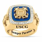 Personalized USCoast Guard Ring 1660 014 0 1